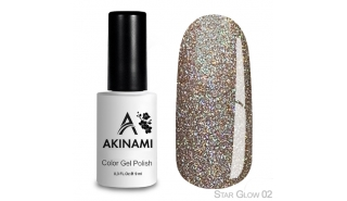 Akinami Color Gel Polish Star Glow - 02